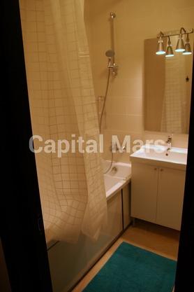 Ванная комната в квартире на Московская обл, ул. Октября, д. 44
