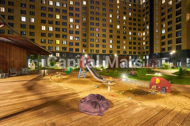 Детская площадка в квартире на ул. Филёвская Б., д. 4