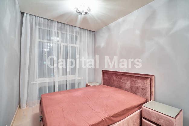 Спальня в квартире на ул. Филёвская Б., д. 4