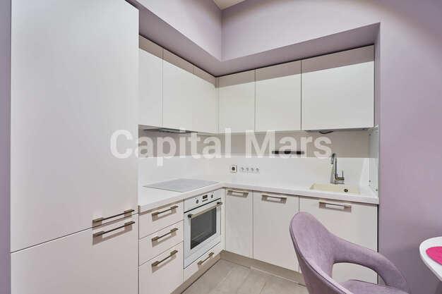 Кухня в квартире на ул. Филёвская Б., д. 4