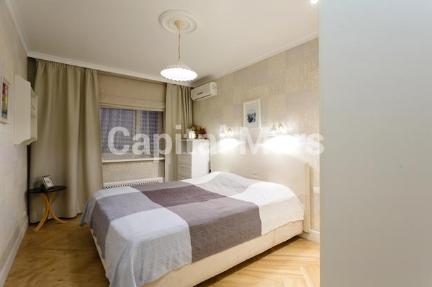 Спальня в квартире на ул. Псковская, д. 9, к. 2