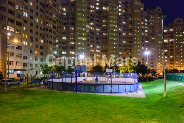 Спортивная площадка в квартире на ул. Псковская, д. 9, к. 2