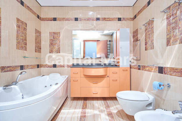 Ванная комната в квартире на ул. Маршала Тимошенко, д. 17, к. 2