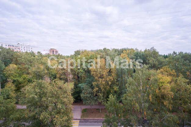 Вид из окна в квартире на ул. Маршала Тимошенко, д. 17, к. 2