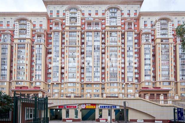 Фасад в квартире на ул. Маршала Тимошенко, д. 17, к. 2