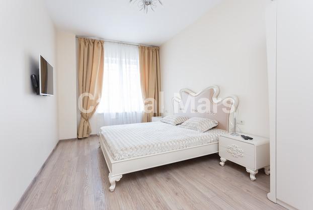 Спальня в квартире на ул. Мытная, д. 7, стр. 1