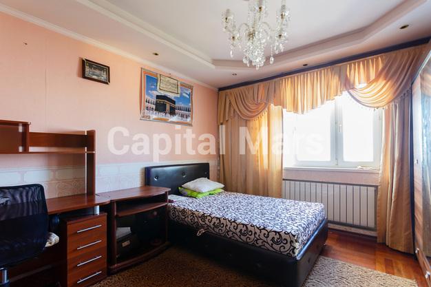 Спальня в квартире на ул. Енисейская, д. 5