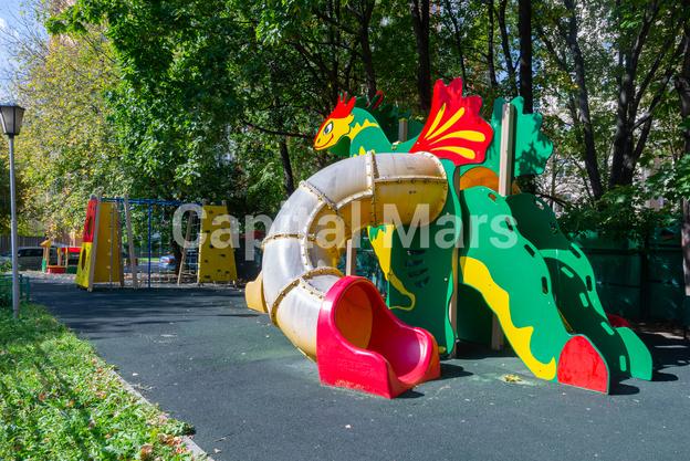 Детская площадка в квартире на ул. Куусинена, д. 23, к. 2