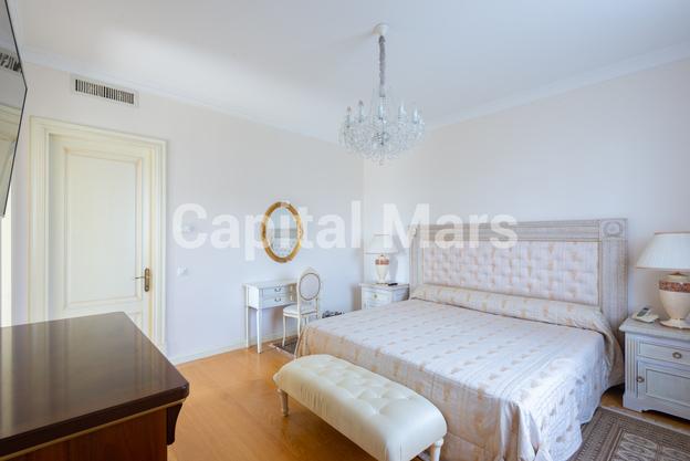 Спальня в квартире на ул. Куусинена, д. 23, к. 2