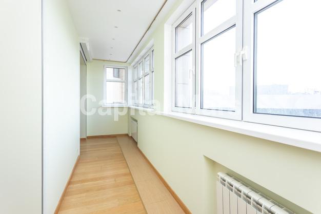 Лоджия в квартире на ул. Давыдковская, д. 3