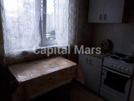 Кухня в квартире на ул. Новомарьинская, д. 17