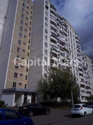 Фасад в квартире на ул. Новомарьинская, д. 17