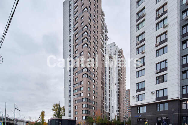 Фасад в квартире на Карамышевская наб, д. 34