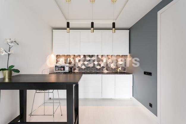 Кухня в квартире на Карамышевская наб, д. 34