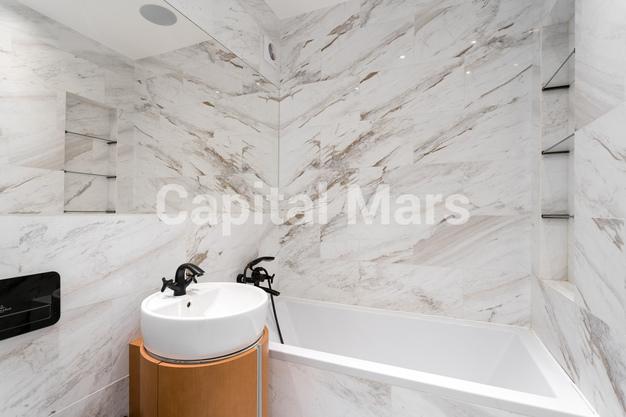 Ванная комната в квартире на Карамышевская наб, д. 34