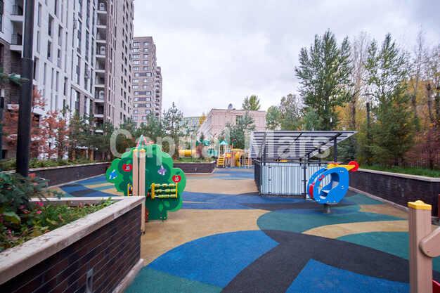 Детская площадка в квартире на Карамышевская наб, д. 34