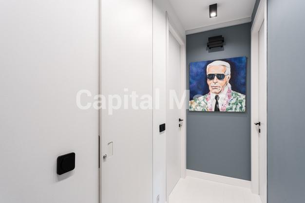 Коридор в квартире на Карамышевская наб, д. 34