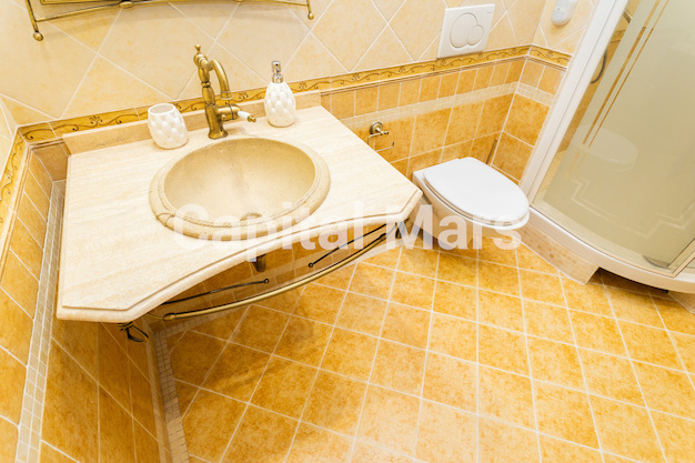 Ванная комната в квартире на Чапаевский пер, д. 3