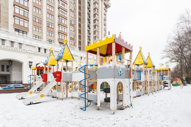 Детская площадка в квартире на Чапаевский пер, д. 3