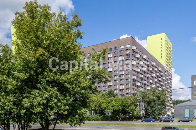 Фасад в квартире на ш. Боровское, д. 2А, к. 3