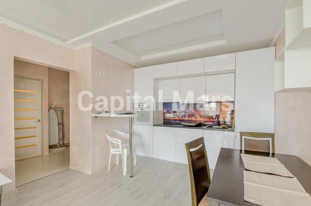 Кухня в квартире на ш. Боровское, д. 2А, к. 3
