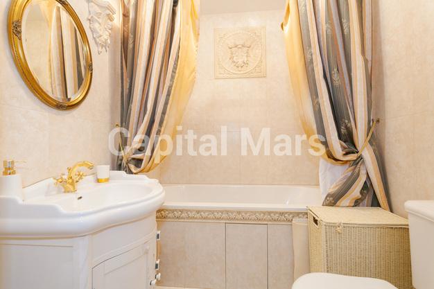 Ванная комната в квартире на ул. Долгоруковская, д. 40
