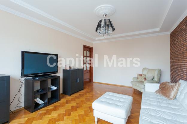 Гостиная в квартире на ул. Долгоруковская, д. 40