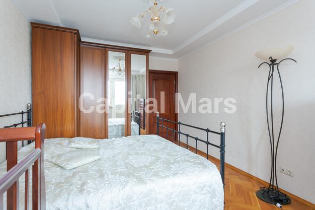 Спальня в квартире на ул. Долгоруковская, д. 40