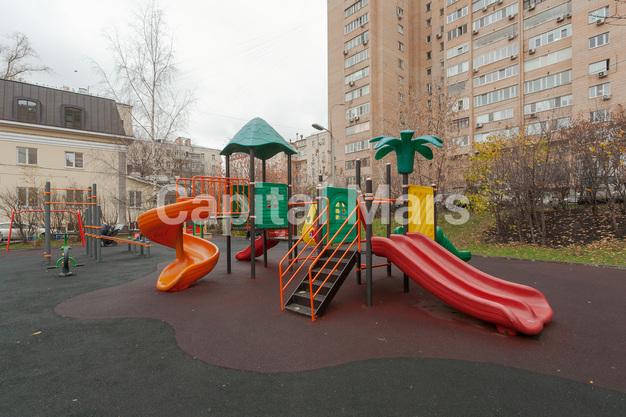 Детская площадка в квартире на ул. Долгоруковская, д. 40
