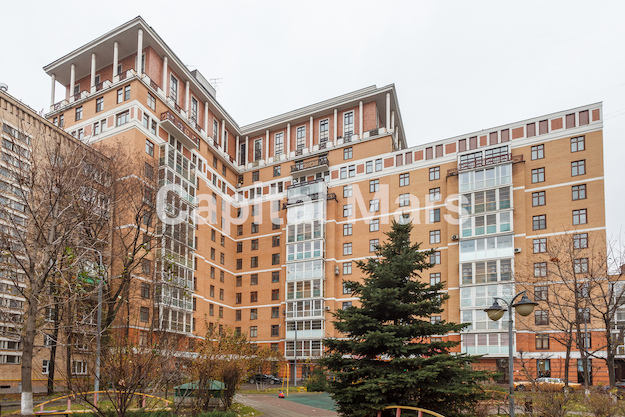 Фасад в квартире на ул. Гиляровского, д. 50