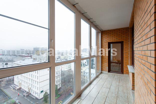 Лоджия в квартире на ул. Гиляровского, д. 50