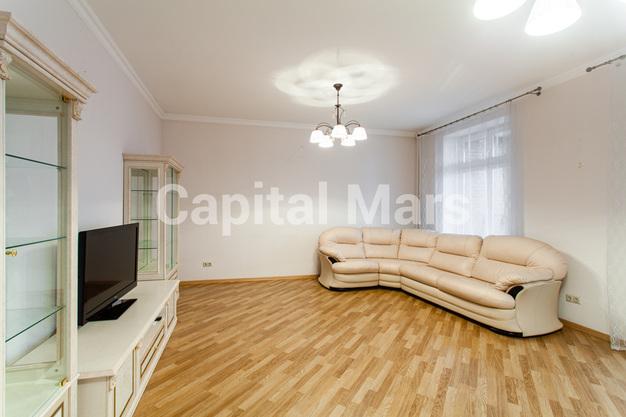Гостиная в квартире на ул. Гиляровского, д. 50