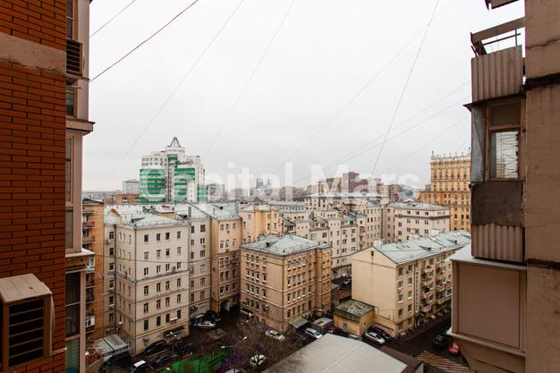 Вид из окна в квартире на ул. Гиляровского, д. 50