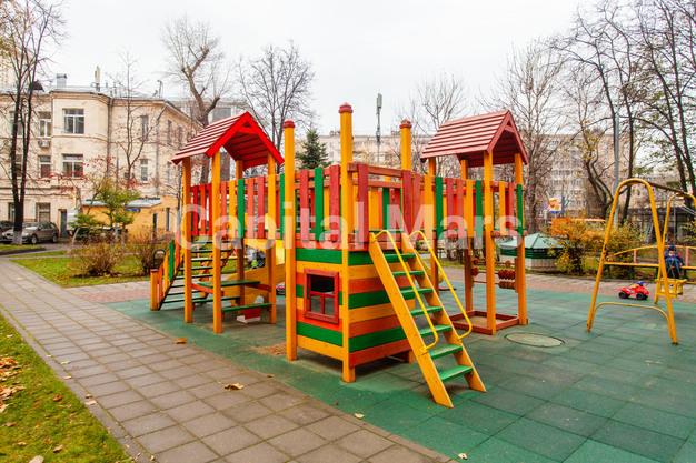 Детская площадка в квартире на ул. Гиляровского, д. 50
