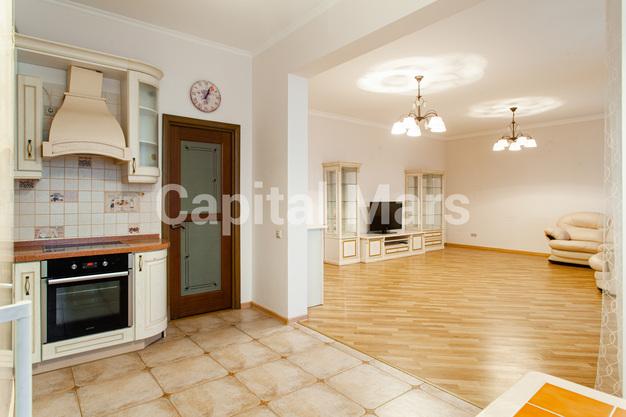 Кухня в квартире на ул. Гиляровского, д. 50