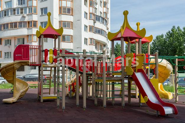 Детская площадка в квартире на ул. Набережная Б., д. 19, к. 2
