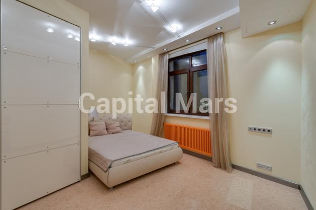 Спальня в квартире на б-р Ходынский, д. 11
