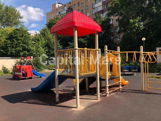 Детская площадка в квартире на ул. Владимирская 2-я, д. 6, к. 2