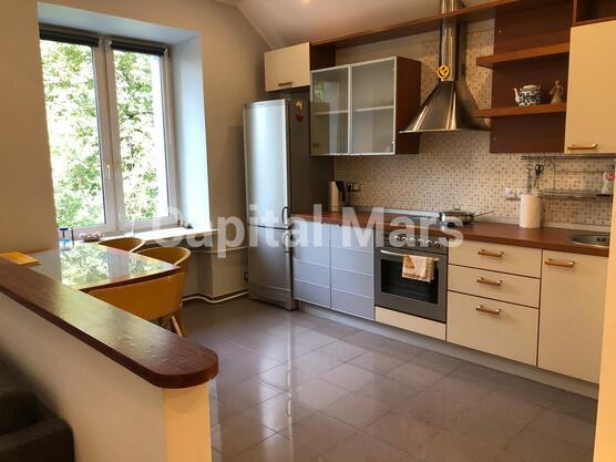 Кухня в квартире на ул. Владимирская 2-я, д. 6, к. 2