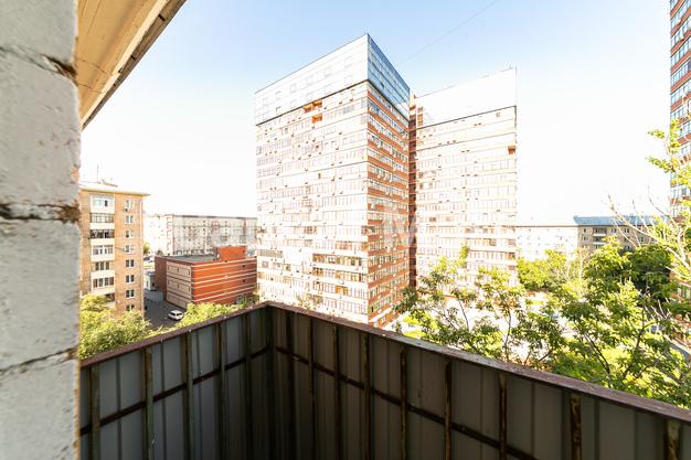Балкон в квартире на пр-кт Ленинградский, д. 74, к. 6