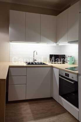 Кухня в квартире на пр-кт Рязанский, д. 2/1, к. 5