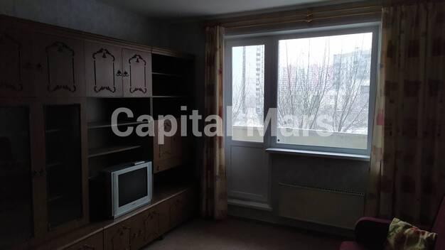 Жилая комната в квартире на ул. Митинская, д. 44