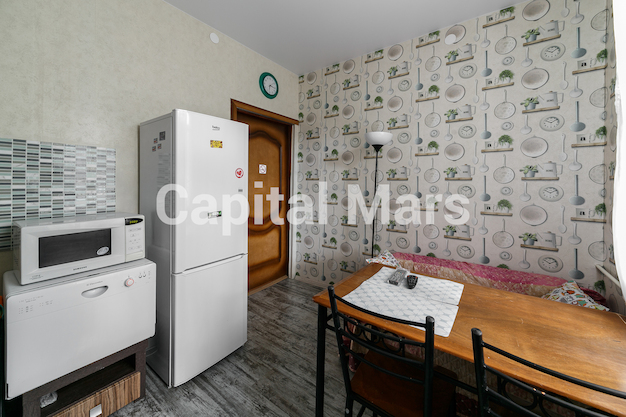 Кухня в квартире на Никитский б-р, д. 25