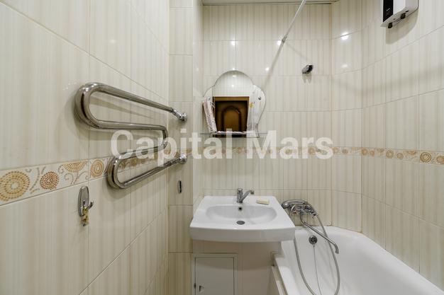 Ванная комната в квартире на Никитский б-р, д. 25