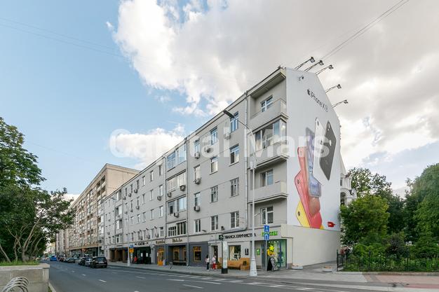 Фасад в квартире на Никитский б-р, д. 25