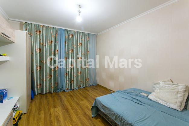 Спальня в квартире на ул. Кадырова, д. 8, к. 3