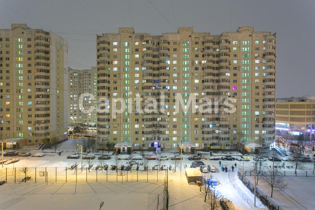 Вид из окна в квартире на ул. Кадырова, д. 8, к. 3