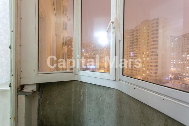 Лоджия в квартире на ул. Кадырова, д. 8, к. 3