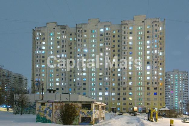 Фасад в квартире на ул. Кадырова, д. 8, к. 3