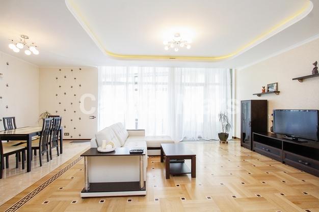 Гостиная в квартире на Ленинградское шоссе, д. 37, к. 1